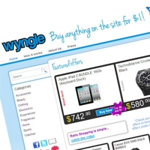 Wyngle - Online Shopping and Betting