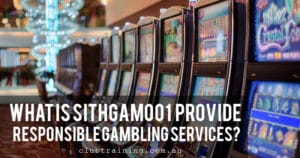 responsible gambling services, rsg online, rsg training online, rsg training