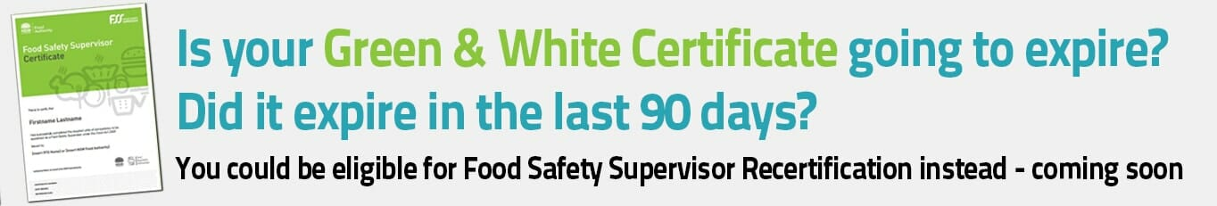 food safety supervisor nsw online course $139 - cta