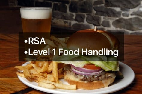 rsa & food handling online training courses