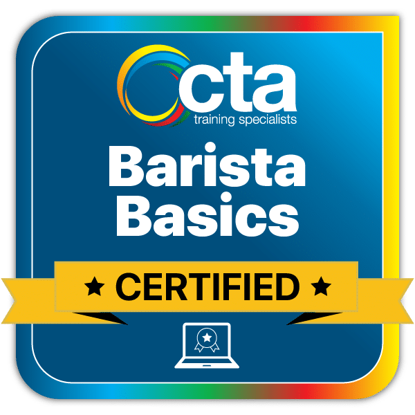 Barista Basics Digital Certificate Badge
