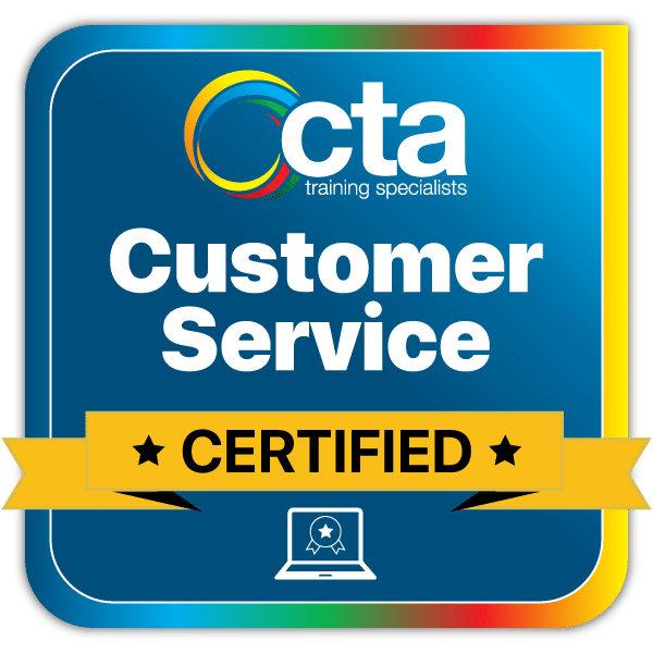 Customer-Service Digital Certificate Badge
