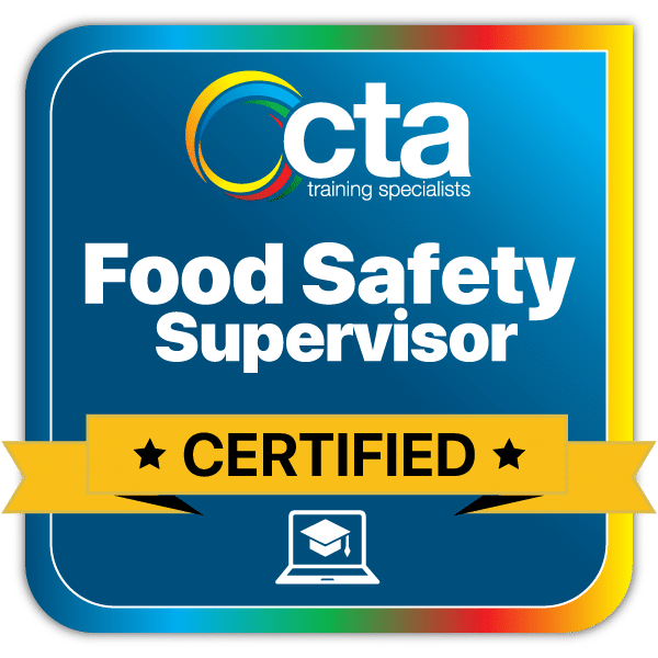 Food Safety Supervisor Digital Certificate Badge