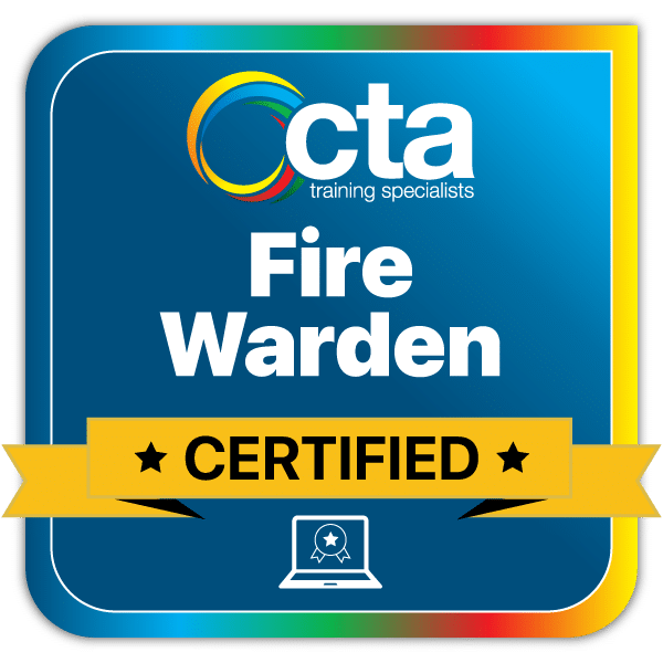Fire-Warden Digital Certificate Badge