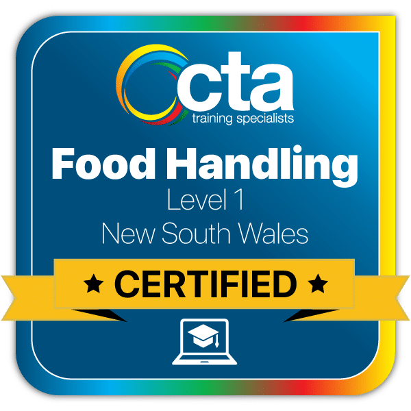 Food-Handling-L1-NSW Digital Certificate Badge